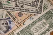 我们美元的背景 — 图库照片