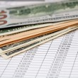 Money for the loan repayment schedule — Stock Photo #58994905