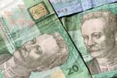 Ukrainian money — Foto de Stock
