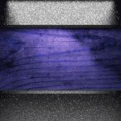Vektör metal ahşap zemin üzerinde — Stok Vektör