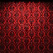 Vector illuminated fabric wallpaper background — Stock Vector