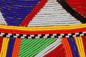 African beads — Stock Photo