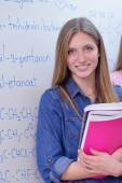School girl student — Stockfoto