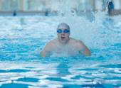 Man swimmer athlete — Stock Photo