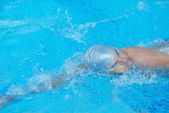 Swimmer athlete — Stock Photo