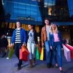 Group Of Friends Enjoying Shopping — Stock Photo #60571575