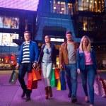 Group Of Friends Enjoying Shopping — Stock Photo #60571579