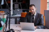 Business man at the office — Stock Photo