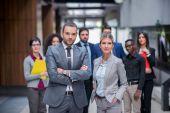 Junge business-people-team — Stockfoto