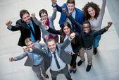 年轻的商业人的团队 — 图库照片
