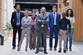 Young business people team — ストック写真
