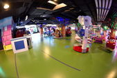 Playground at Shopping mall — Stock fotografie