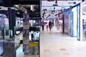 Shopping-mall innen — Stockfoto