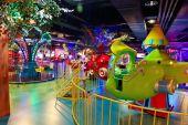 Playground at Shopping mall — Foto de Stock