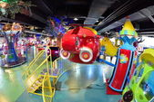 Playground at Shopping mall — Stock Photo