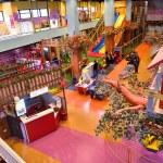 Playground at Shopping mall — Stock Photo #65482373