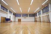 Elementary school gym indoor — Stock Photo