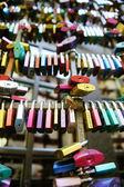 Love locks in Verona — Stock Photo
