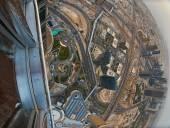 Dubai downtown view — Stock Photo