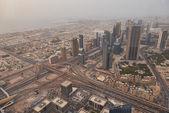 Downtown cityscape of Dubai — Stock Photo