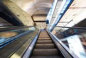 Centrum handlowe schody Zobacz — Zdjęcie stockowe