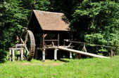 Sibiu ethno museum water mill — Stock Photo