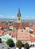 Sibiu Lutheran Cathedral — Stock fotografie