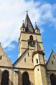 Sibiu Lutheran Cathedral — Foto Stock