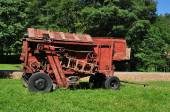 Rode thresher — Stockfoto