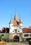 Catherine's Gate Brasov — Stock Photo