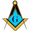 Freemason symbol — Stock Photo #64059261