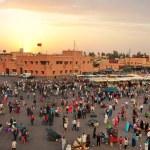 Jemaa El Fna square — Stock Photo #75464539