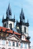 Beautiful street in Prague — Stockfoto