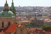 Panorama of Charles bridge, Prague — Stock Photo