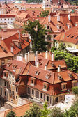 Traditional red roofs in Prague Old Town — Photo