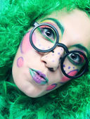 Crazy woman — Stock Photo