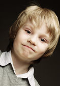Funny young boy — Stock Photo