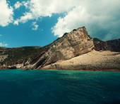 Blue caves on Zakynthos island, Greece — Stock Photo