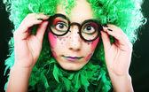 Crazy woman — ストック写真