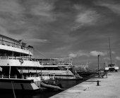 Port, Zakinthos, Greece island. — Stock Photo