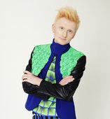Fashion man in colorful shirt — Stock Photo