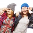 Two young girl friends — Stock Photo #68848085