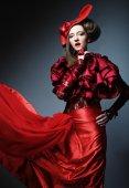Glamour fotomodel — Stockfoto
