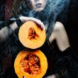 Halloween witch — Stock Photo #72067951