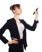 Kobieta młody biznes — Zdjęcie stockowe