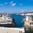A view of a port in Zakynthos, Greece — Stock Photo #72827575