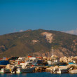 A view of a port in Zakynthos, Greece — Stock Photo #72827587