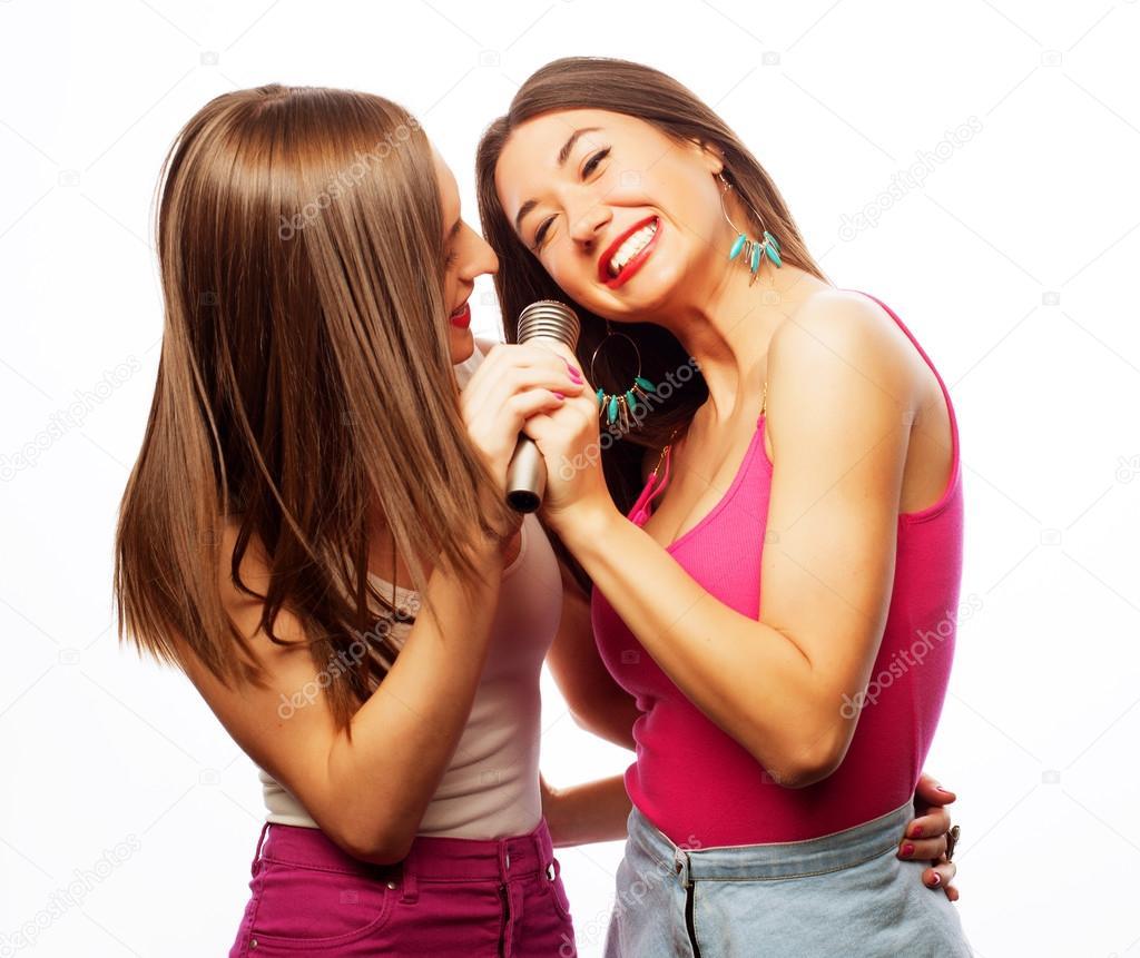 Big tit lesbians having sex