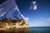 Agios Sostis in Zakynthos island — Stock Photo