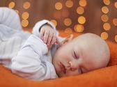 眠っている静かな赤ちゃん — ストック写真